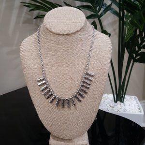 Chloe +Isabel Metal Fringe Convertible Necklace